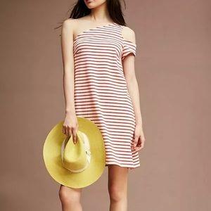 ANTHRO MAEVE | Marketa One Shoulder Dress Sz M